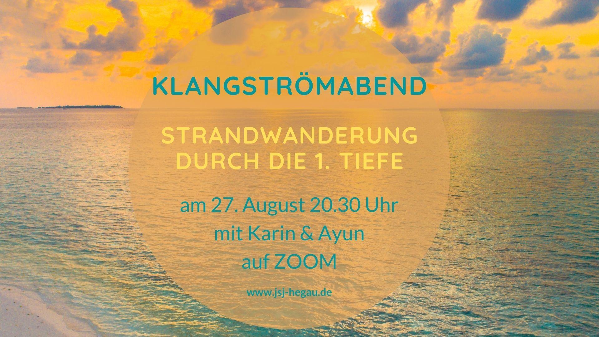 Klangströmabend1.Tiefe